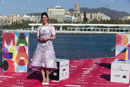 Manuela Velasco poses for photographers during the presentation of the film 'Antes de la quema' (Lit: Before the burning) by Spanish director Fernando Colomo at the Malaga Film Festival, in Malaga, Spain, 17 March 2019. The Malaga Film Festival will take place from 15 to 24 March.
