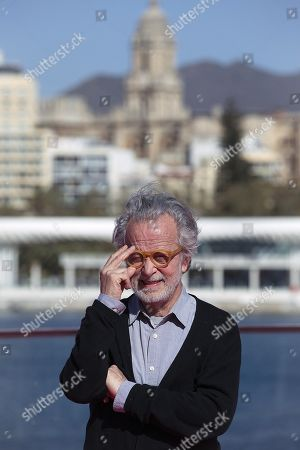 "Fernando Colomo poses during the presentation of his film '""Antes de la quema' (Lit: Before the burning) at the Malaga Film Festival, in Malaga, Spain, 17 March 2019. The Malaga Film Festival will take place from 15 to 24 March."