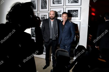 Anthony Maras and Jason Isaacs