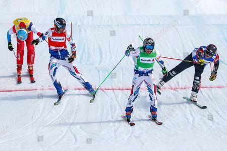 Editorial image of FIS Ski Cross World Cup Finals, Veysonnaz, Switzerland - 17 Mar 2019