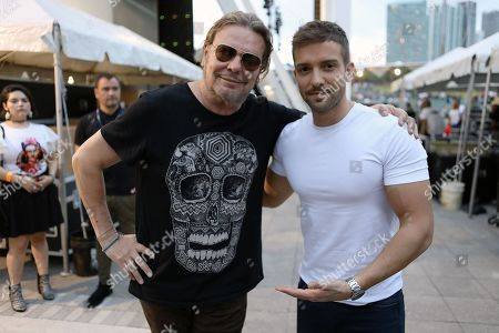 Fher Olvera and Pablo Alboran