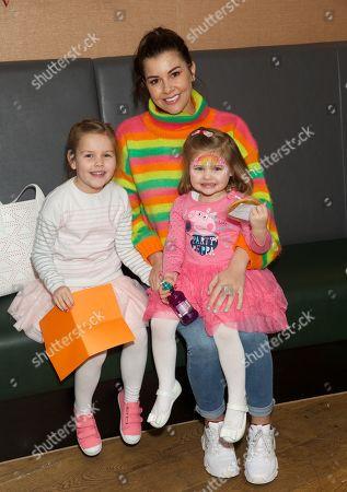 Imogen Thomas, Siera Aleira Horsley and Ariana Siena Horsley