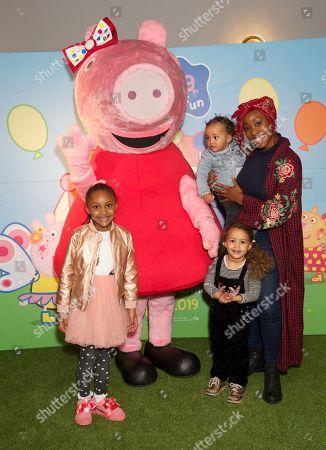Scarlette Douglas and children