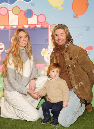 Nicky Clarke, Kelly Simpkin and Nico George