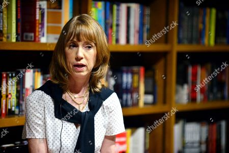 """Stock Image of Author Lisa See speak and sign copies of her new book """"The Island of Sea Women"""" at Books and Books Gables"""