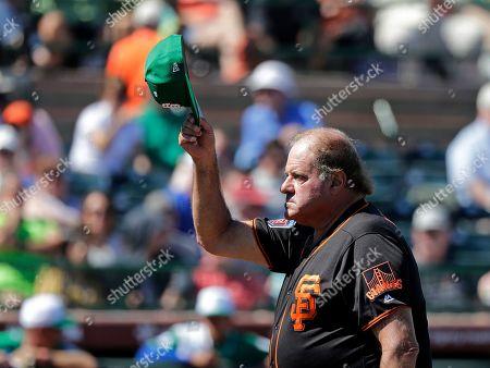 Editorial image of Royals Giants Baseball, Scottsdale, USA - 17 Mar 2019