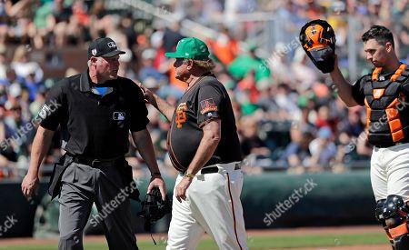 Editorial photo of Royals Giants Baseball, Scottsdale, USA - 17 Mar 2019