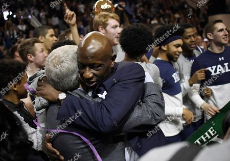 Editorial photo of Ivy Yale Harvard Basketball, New Haven, USA - 17 Mar 2019
