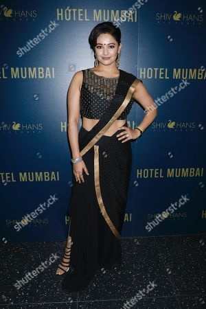 Editorial picture of Bleecker Street and ShivHans Pictures host a special screening of 'Hotel Mumbai', Arrivals, New York, USA - 17 Mar 2019