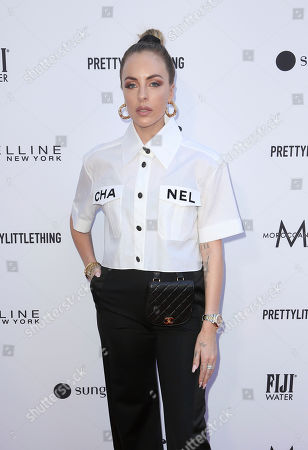 Maeve Reilly arrives at the 2019 Daily Front Row's Fashion Los Angeles Awards at The Beverly Hills Hotel, in Beverly Hills, Calif