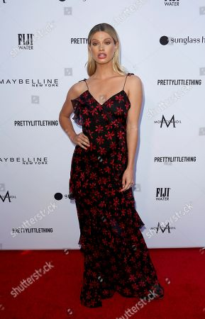 Maggie Rawlins arrives at the 2019 Daily Front Row's Fashion Los Angeles Awards at The Beverly Hills Hotel, in Beverly Hills, Calif