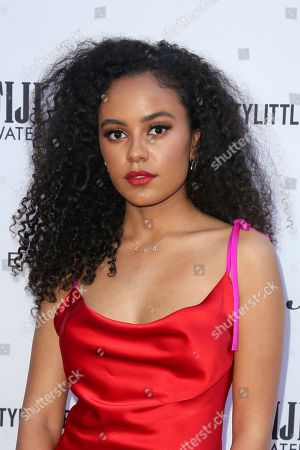 Ava Dash arrives at the 2019 Daily Front Row's Fashion Los Angeles Awards at The Beverly Hills Hotel, in Beverly Hills, Calif