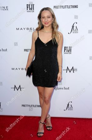 Jennifer Meyer arrives at the 2019 Daily Front Row's Fashion Los Angeles Awards at The Beverly Hills Hotel, in Beverly Hills, Calif
