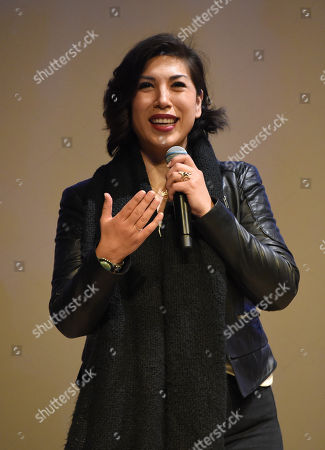 Paulette Jordan attends the 2019 Sun Valley Film Festival 'Running With Beto' and 'Paulette' screening presented by Ford held at the Argyros theatre in Sun Valley, ID