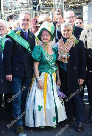 James Nesbitt and Mayor of London, Sadiq Khan