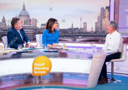 Piers Morgan and Susanna Reid with Michael Buerk