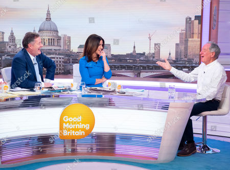 Editorial picture of 'Good Morning Britain' TV show, London, UK - 18 Mar 2019