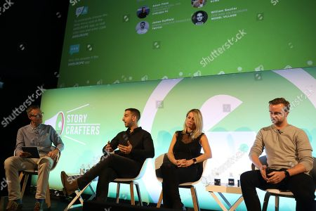 Andrew Canter (Global CEO, BCMA), Adam Field (Head of Global Fan Engagement, Chelsea FC), Emily Young (Head of UK, Takumi) and James Duffield (Senior Creative Producer, Twitch)