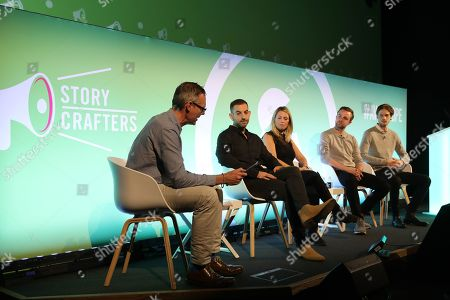 Andrew Canter (Global CEO, BCMA), Adam Field (Head of Global Fan Engagement, Chelsea FC), Emily Young (Head of UK, Takumi), James Duffield (Senior Creative Producer, Twitch) and William Soulier (CEO and Co-Founder, Model Village)