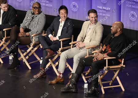 Aisha Hinds, Kenneth Choi, Ryan Guzman. Rockmond Dunbar