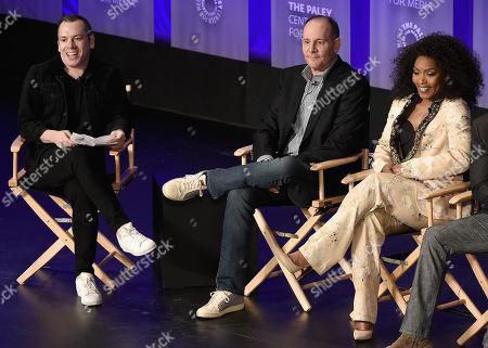 Stock Photo of Tim Stack, Tim Minear, Angela Bassett