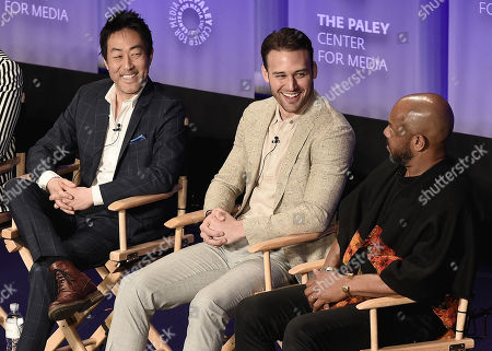 Kenneth Choi. Ryan Guzman, Rockmond Dunbar
