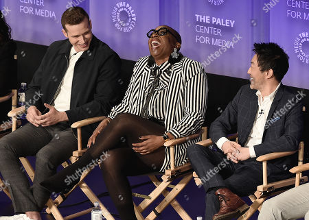 Oliver Stack, Aisha Hinds, Kenneth Choi