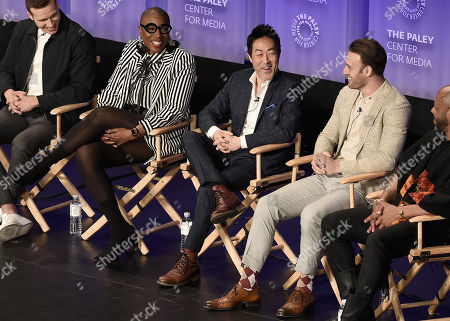 Oliver Stack, Aisha Hinds, Kenneth Choi. Ryan Guzman