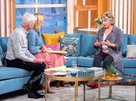 Stock Picture of Phillip Schofield, Holly Willoughby, Lesley Garrett