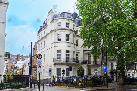 Editorial photo of Home of Douglas Fairbanks Jr available for rent, London, UK - Mar 2019