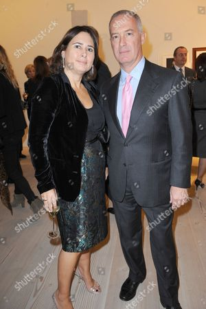 Alexandra Shulman and Francesco Trapani, managing director of Bulgari