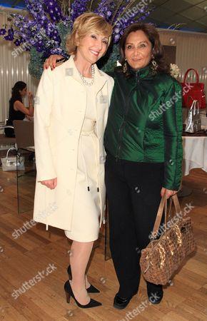 Lana Marks and Najma Currmjee