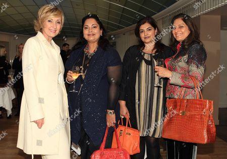 Lana Marks, Anu Choraria, Ratna Kakkar, Anita Choudry