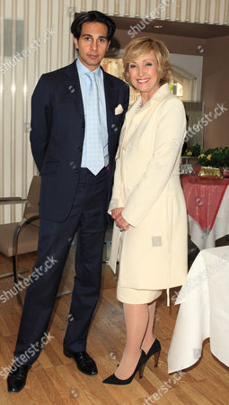 Amin Jaffer (Director of Christies) and Lana Marks