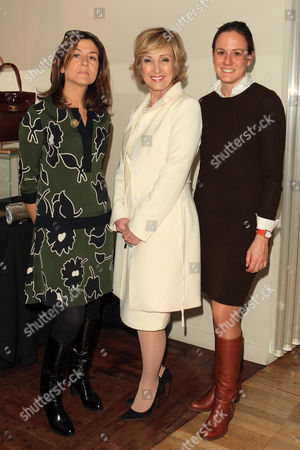 Lana Marks, Princess Solina Guedroitz and  Emilie Betts