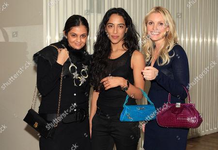 Gayatri Juneja; Simrin Choudhrie and Tiffany Marks