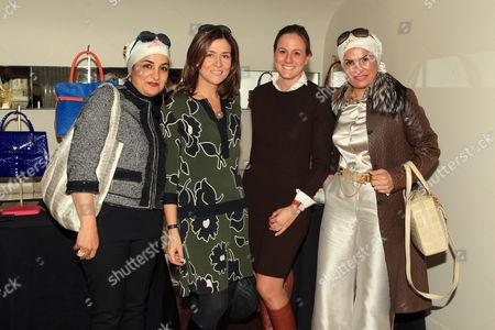 Stock Image of Fatima Al Jamal, Princess Solina Guedroitz, Emilie Betts, Hessa Al Jamal