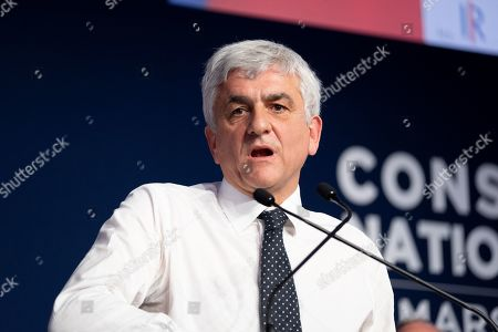 Herve Morin, during his speech at the National Council of Republicans