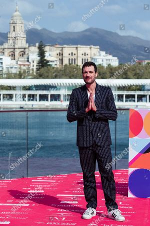 Daniel Grao poses for the photographers during the presentation of the film 'Gigantes' (Giants), by Spanish film director Enrique Urbizu, as part of the 22th Malaga Film Festival in Malaga, southern Spain, 18 March 2018. The festival runs from 15 March to 24 March.