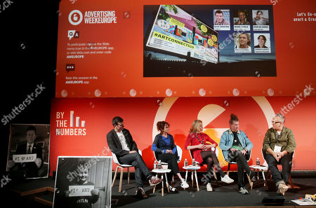 Editorial picture of How might the #Art of Festivals help avert a #Creativity Crisis in our Schools, By The Numbers Stage, Advertising Week Europe, Picturehouse Central, London, UK - 18 Mar 2019
