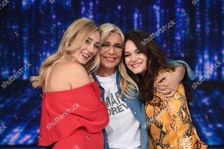 Editorial picture of 'Domenica in' TV show, Rome, Italy - 17 Mar 2019