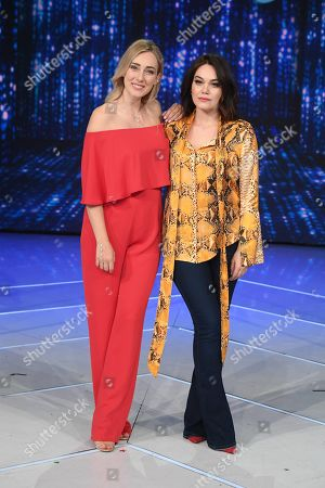 Editorial image of 'Domenica in' TV show, Rome, Italy - 17 Mar 2019