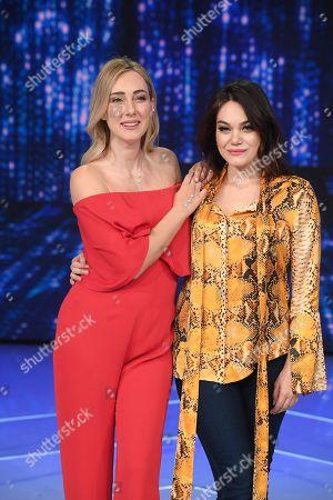 Editorial photo of 'Domenica in' TV show, Rome, Italy - 17 Mar 2019