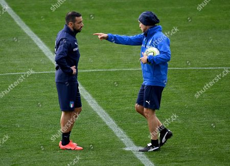 Editorial image of Italy training session, Florence - 18 Mar 2019