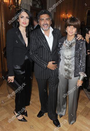 Renu Mehta, James Caan and partner