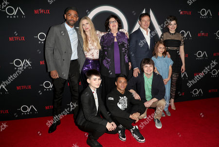 Editorial photo of 'The OA Part II' TV Show Premiere, Arrivals, LA County Museum of Art, Los Angeles, USA - 19 Mar 2019