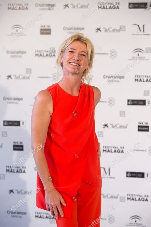 Ana Duato poses during the presentation of the 20th season of the show 'Cuentame como paso' on occasion of the 22nd Malaga Film Festival, in Malaga, Spain, 20 March 2019. 'Cuentame como paso' is considered to be a classic in Spanish TV series history, running now on its 20th season starting back in 2001.