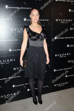 Editorial image of Vogue and Bulgari Party for Save the Children, Saatchi Gallery, London, Britain - 13 Oct 2009