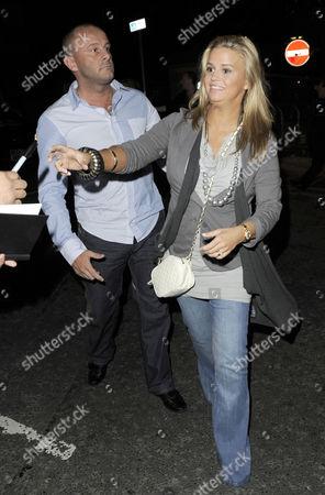 Kerry Katona and husband Mark Croft