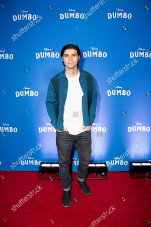 """Editorial image of Canadian Premiere of """"Dumbo"""", Toronto, Canada - 18 Mar 2019"""